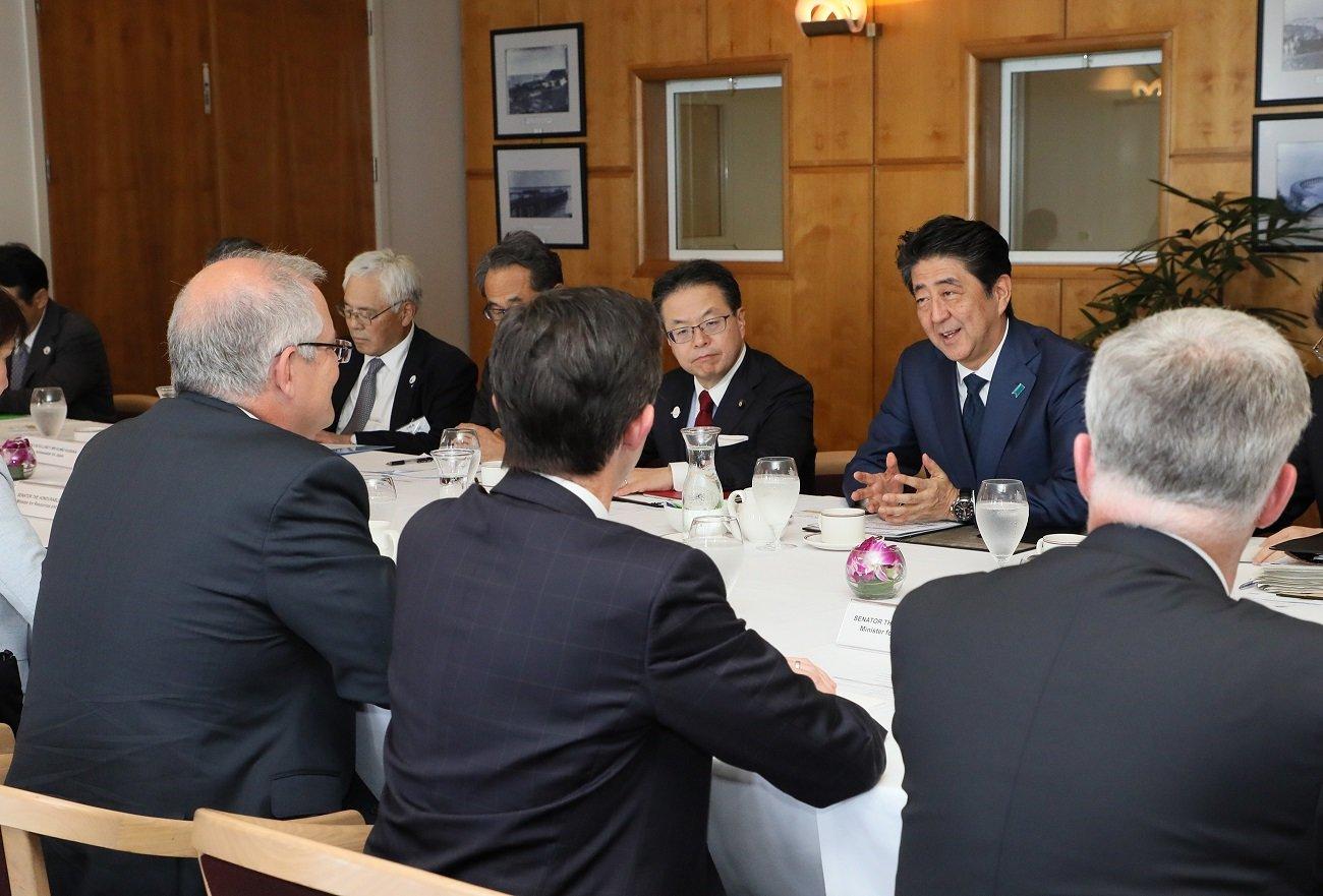 写真:日・オーストラリア首脳会談4