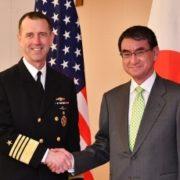 リチャードソン米海軍作戦部長による河野外務大臣表敬
