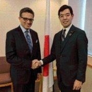 ハイダー・カナダビジネス評議会会長による辻外務大臣政務官表敬