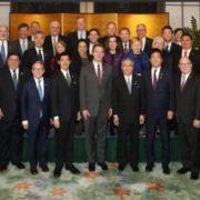 全米州知事会総会出席