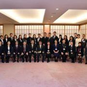 「JENESYS2018」中国青年公益事業交流団一行による河野外務大臣表敬1