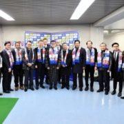 河野外務大臣とASEAN各国及び東ティモールの駐日大使等によるサッカー観戦1