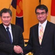 河野外務大臣とリムASEAN事務総長との会談