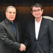 河野外務大臣主催ルデイネ・パレスチナ副首相兼情報相との昼食会1