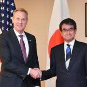 河野外務大臣とシャナハン米国国防長官代行との会談1