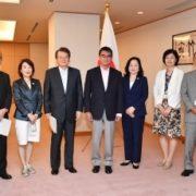 外務人事審議会による「多様な人材が活躍する職場作りを含む在外公館を通じた機動的な外交活動の展開に関する勧告」の提出1