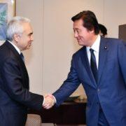 若宮外務副大臣とビロル国際エネルギー機関事務局長との会談