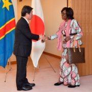 日・コンゴ民主共和国外相会談(出迎え)