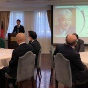中谷外務大臣政務官の故中村哲氏追悼式への出席