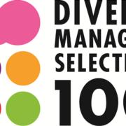 「新・ダイバーシティ経営企業100選」のロゴ