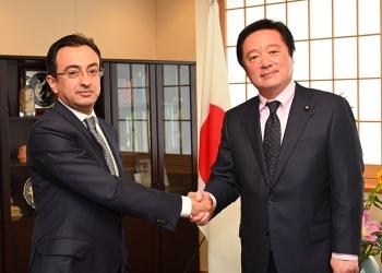 イスマイルザーデ次期駐日アゼルバイジャン大使による若宮外務副大臣表敬1