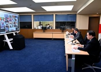 (写真1)オーストラリア主催WTO非公式閣僚会合の様子