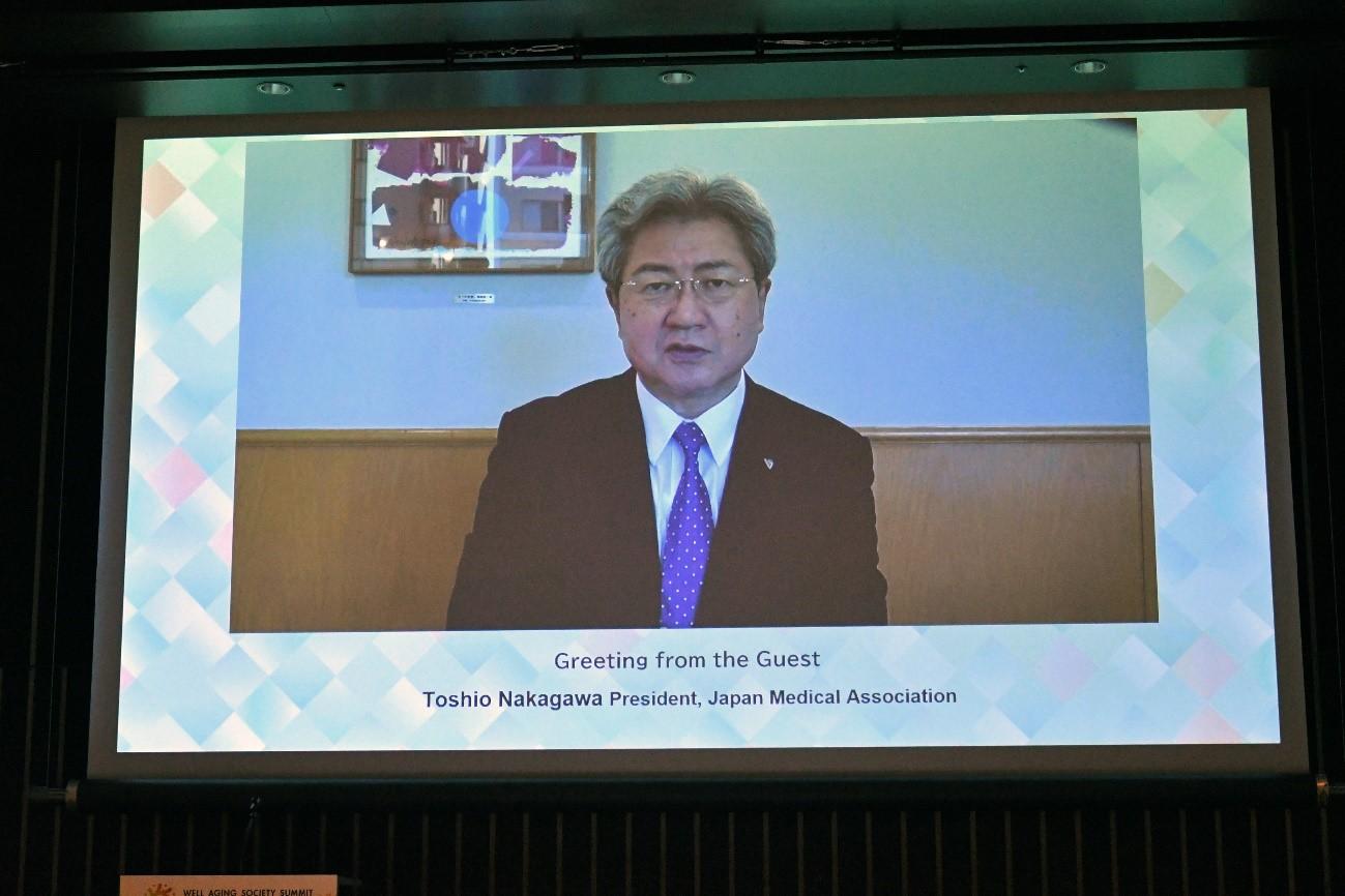 中川日本医師会会長の画像
