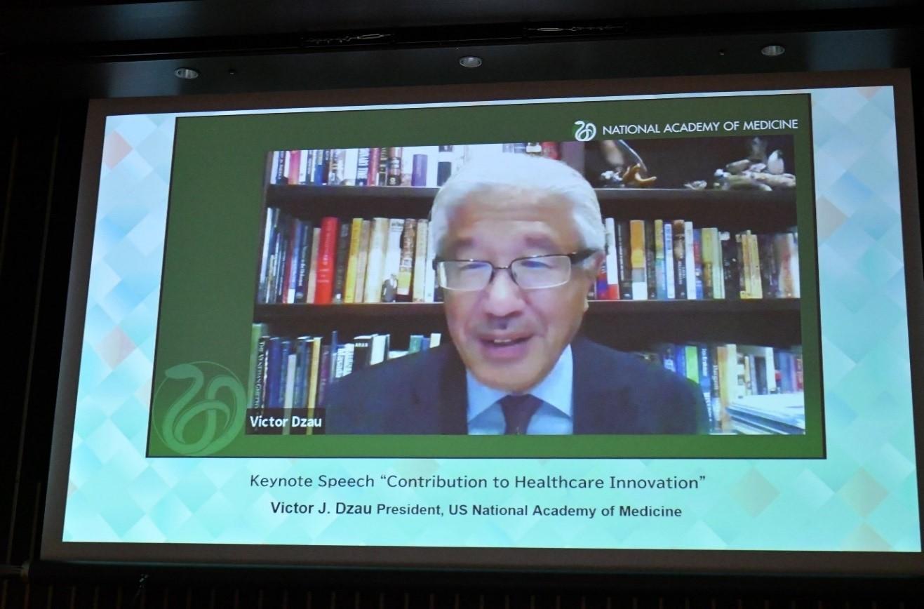Victor J.Dzau全米医学アカデミー会長の画像