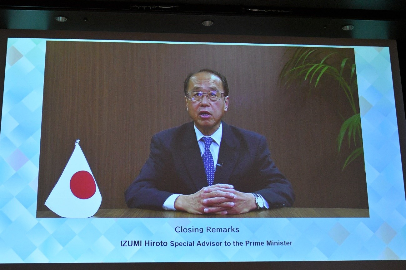 和泉首相補佐官の画像