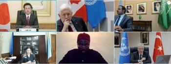 国連平和構築基金ハイレベル増資会合における宇都外務副大臣ビデオ・メッセージの発出1