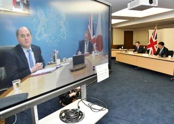 第4回日英外務・防衛閣僚会合(「2+2」)1