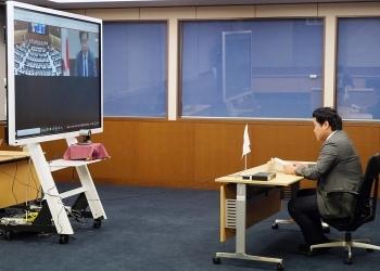 鷲尾英一郎外務副大臣は、オンラインでアフガニスタンの人道状況に関するハイレベル閣僚級会合に出席しました。